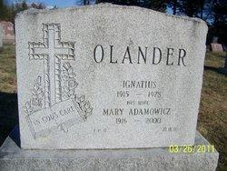Mary <i>Adamosicz</i> Olander