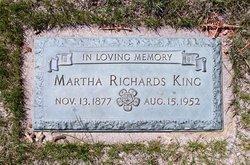 Martha <i>Richards</i> King