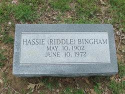 Hassie <i>Riddle</i> Bingham