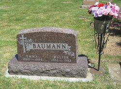 Emma Christine <i>Peterson</i> Baumann