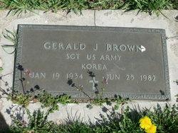 Sgt Gerald Joesph Brown