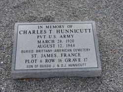 Charles T Hunnicutt