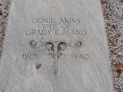 Donie <i>Akins</i> Bland