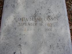 Juanita <i>Bland</i> Cannon