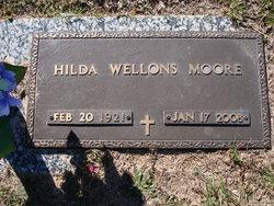 Hilda <i>Wellons</i> Moore