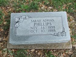 Sarah <i>Adrian</i> Phillips