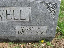 Mary E <i>Sweeney</i> Glidewell