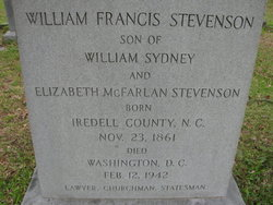 William Francis Stevenson