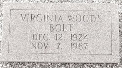 Virginia <i>Woods</i> Bolt