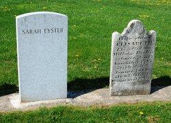 Elisabeth <i>Spangler</i> Eyster