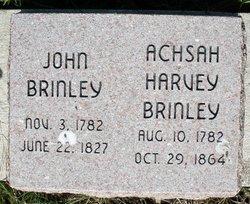 Achsah <i>Harvey</i> Brinley