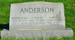 Nancy Kerr Nannie <i>Dunlap</i> Anderson