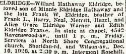 Willard Hathaway Eldridge