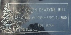 Galen Dewayne Hill