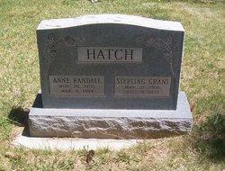 Sterling Grant Hatch