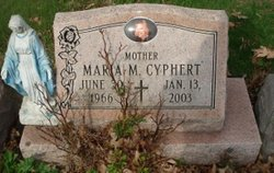 Maria M <i>Dickey</i> Cyphert