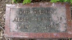 Albert Lang, Jr