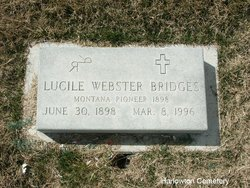 Lucile <i>Webster</i> Bridges
