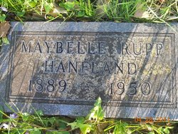 Maybelle Rupp <i>Myers</i> Hanfland