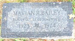 Marian R. Bailey