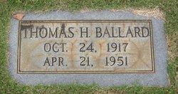 Thomas H Ballard