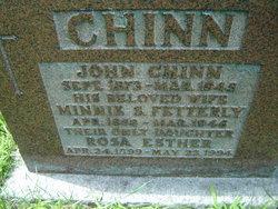 Minnie S. C. <i>Fetterly</i> Chinn