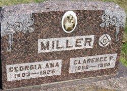 Georgia Ana <i>Dye</i> Miller