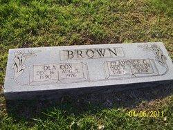 Ola <i>Cox</i> Brown