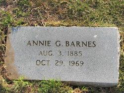 Annie G Barnes