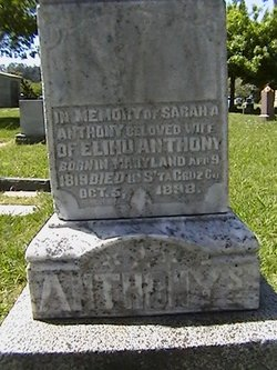 Sarah A <i>Van Anda,</i> Anthony
