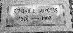 Kizziah Elizabeth <i>McDonald</i> Burgess