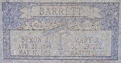 Byron J Barrett