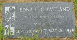 Edna Louise Cleveland