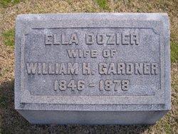 Ella <i>Dozier</i> Gardner