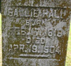 Sarah H. Sallie <i>Younger</i> Hall