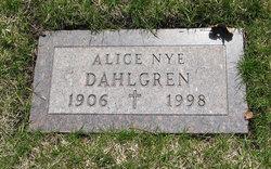 Alice <i>Nye</i> Dahlgren