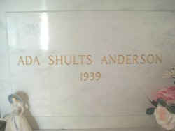 Ada <i>Shults</i> Anderson