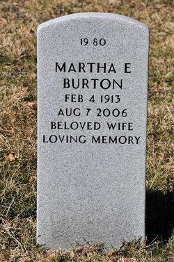 Martha E. Burton