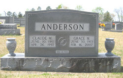 Grace <i>Morrison</i> Anderson