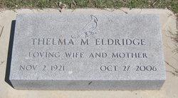 Thelma Marie <i>Owston</i> Eldridge