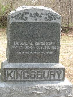 Bessie J Kingsbury