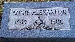 Mary Susannah Annie <i>Smith</i> Alexander