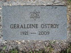 Geraldine <i>Ostrow</i> Ostroy