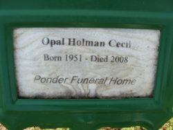 Opal Lee <i>Wells</i> Cecil