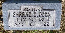 Sarrah Ellen <i>Stark</i> Deen