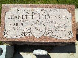 Jeanette Joan <i>LaMear</i> Johnson