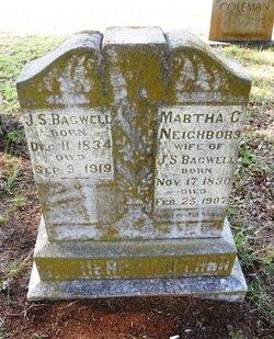 Martha C <i>Neighbors</i> Bagwell