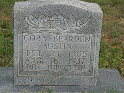 Cora <i>Bearden</i> Austin