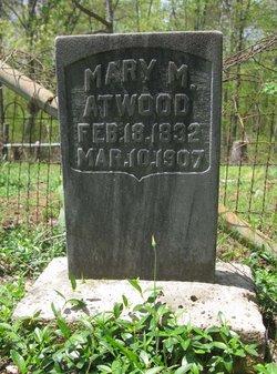 Mary M. <i>Wood</i> Atwood