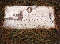 Sgt Barnett H. Carter
